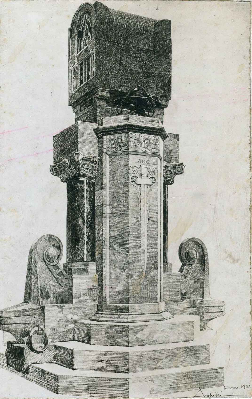 Progetto per un monumento commemorativo