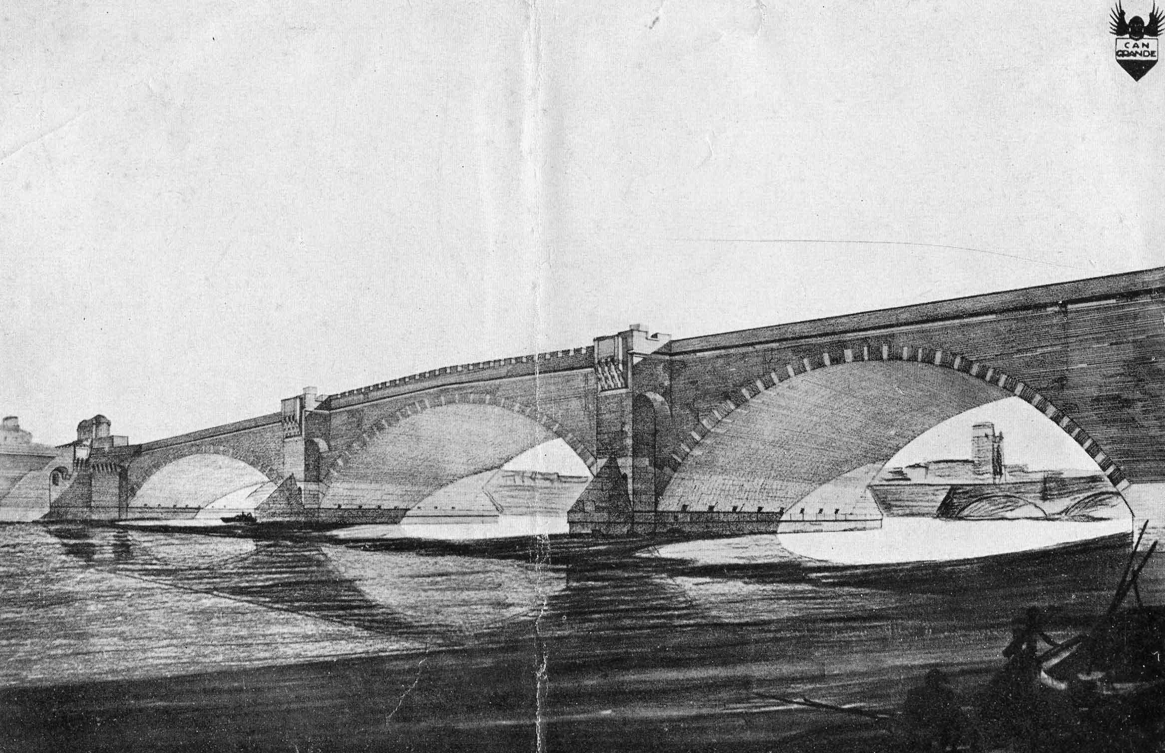 Progetto di concorso per il ponte della Vittoria a Verona