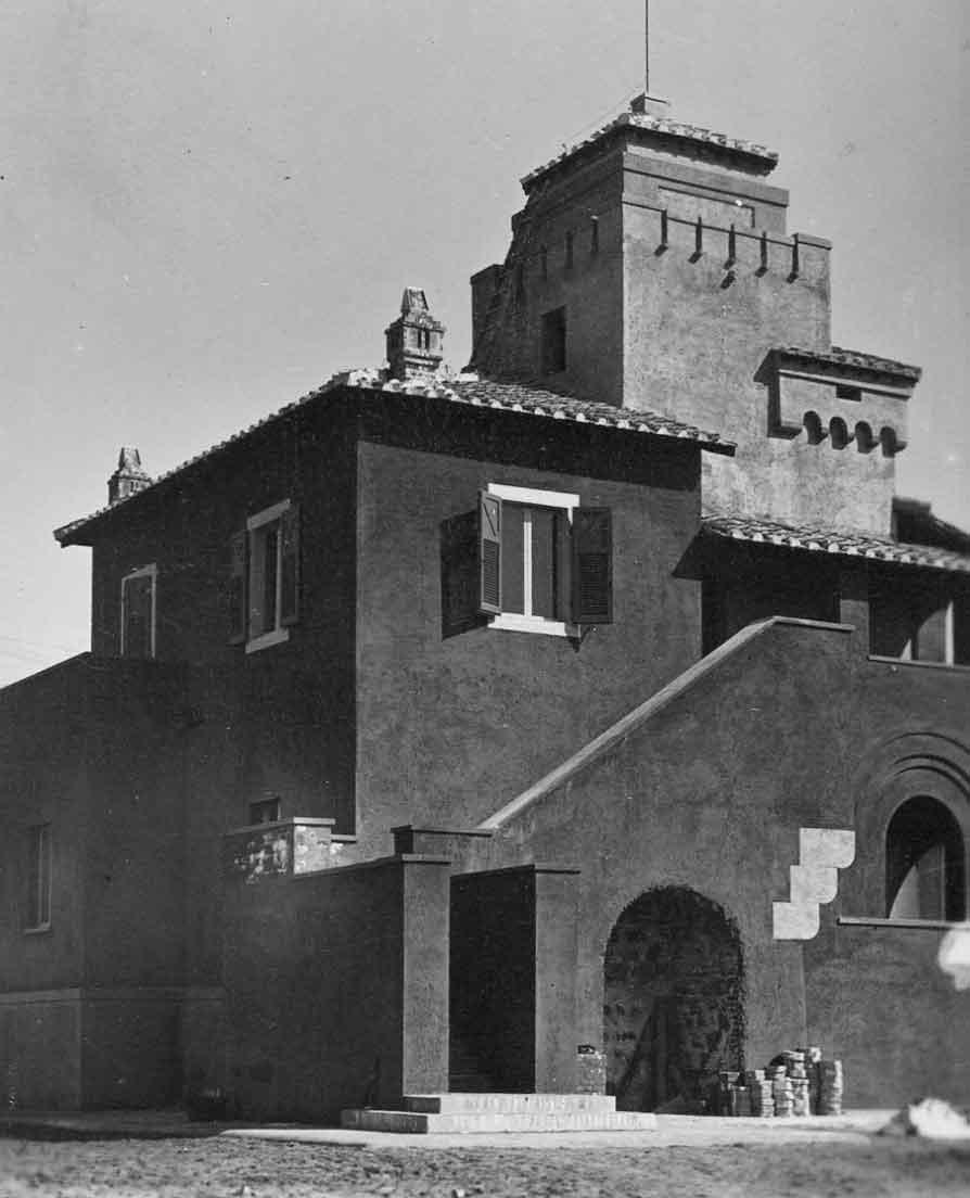 Casa del guardiano a Fregene (Roma)