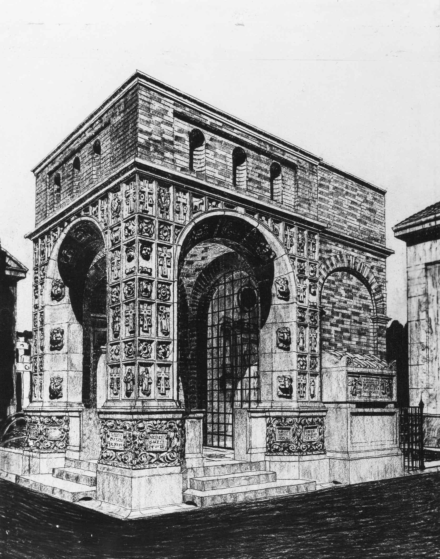 Tomba Bandini al Cimitero comunale di Savona