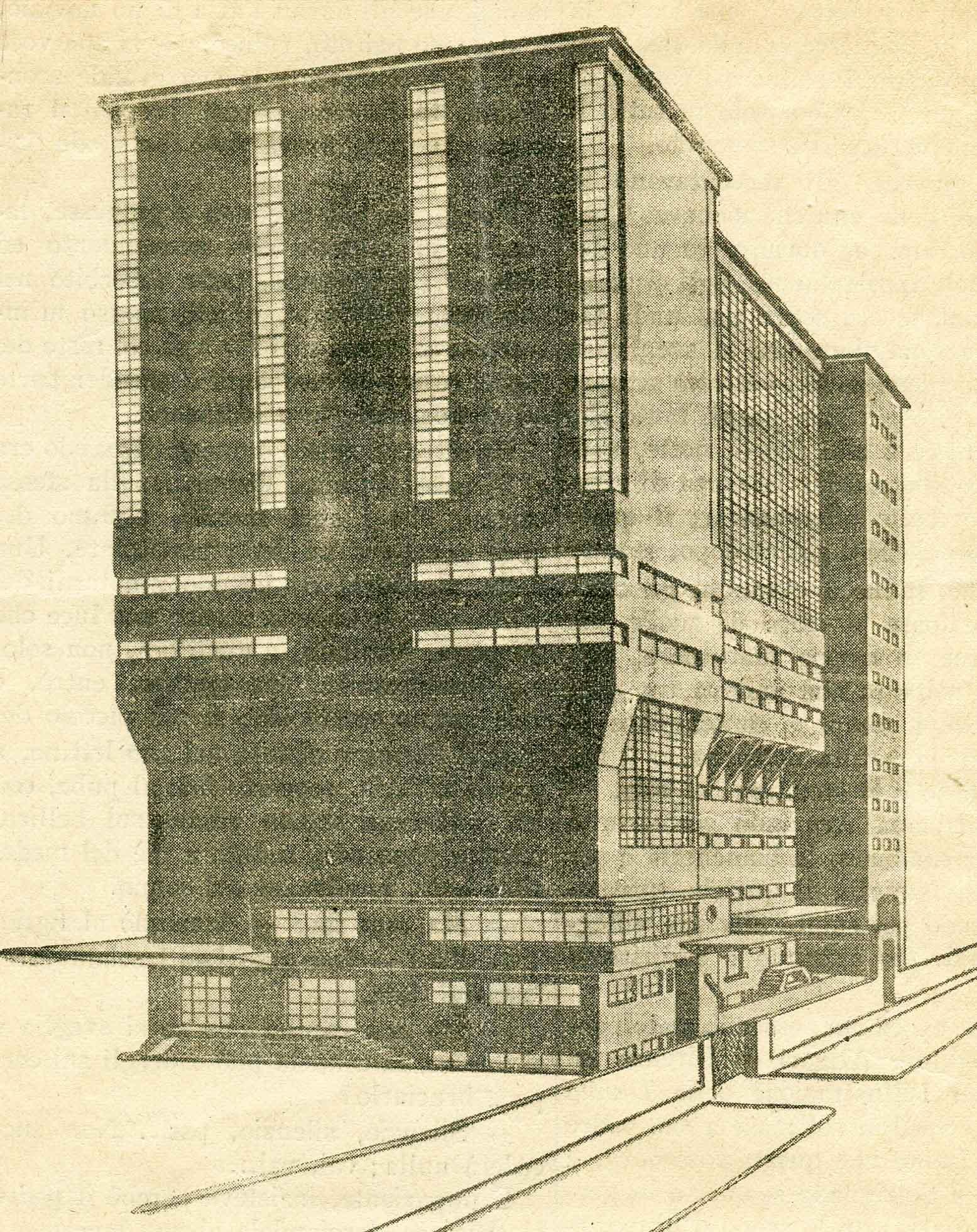 Magazzino, silos e uffici del pastificio Pantanella a Roma