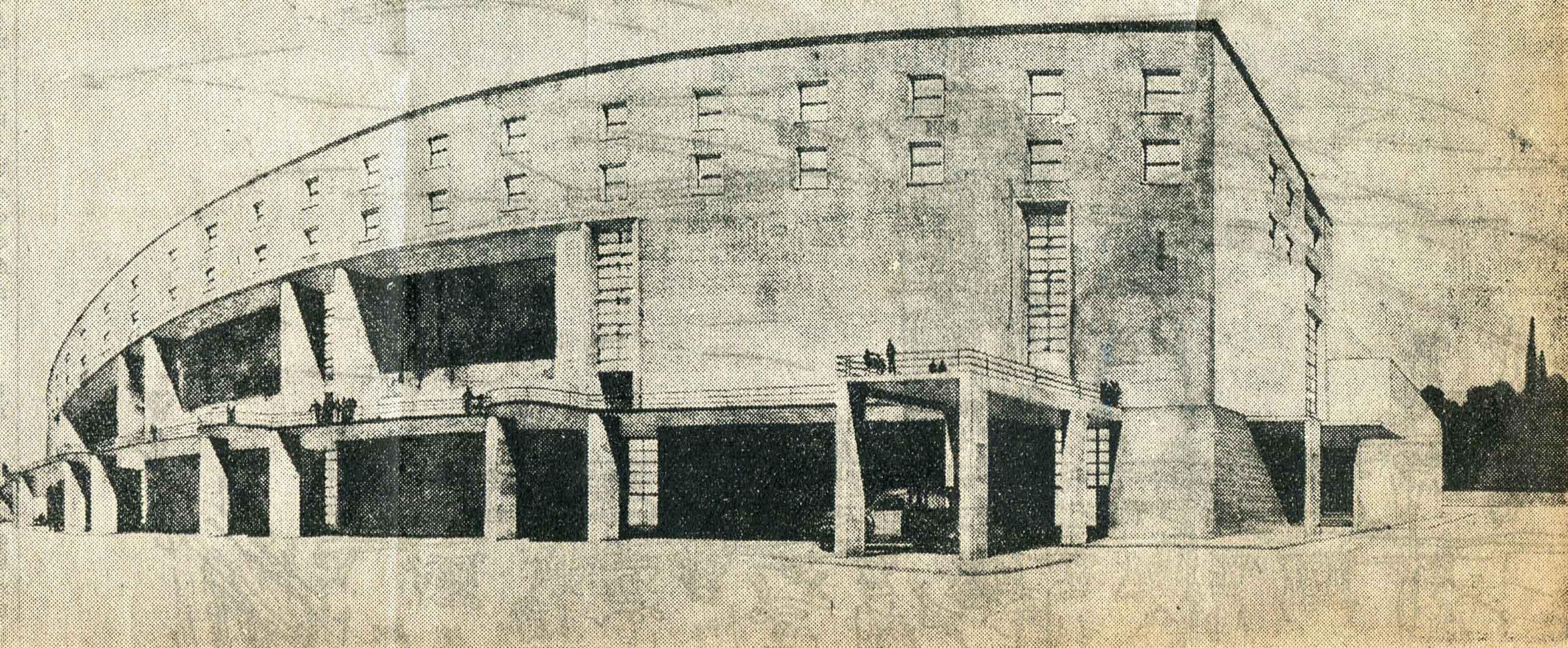 Progetto per un teatro albergo
