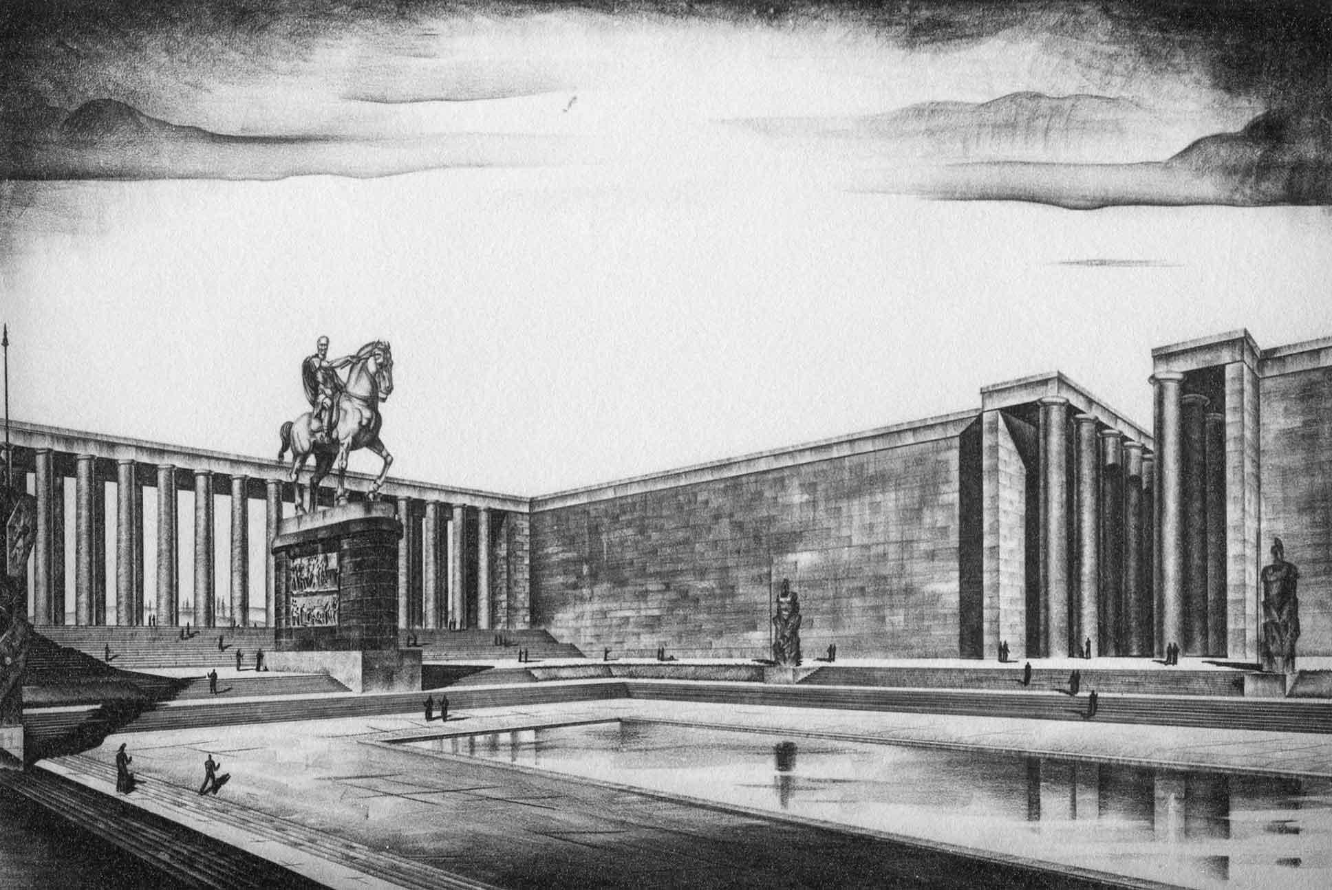 Palazzo per la Mostra della Romanità (ora Museo della Civiltà Romana) all'E42, Roma