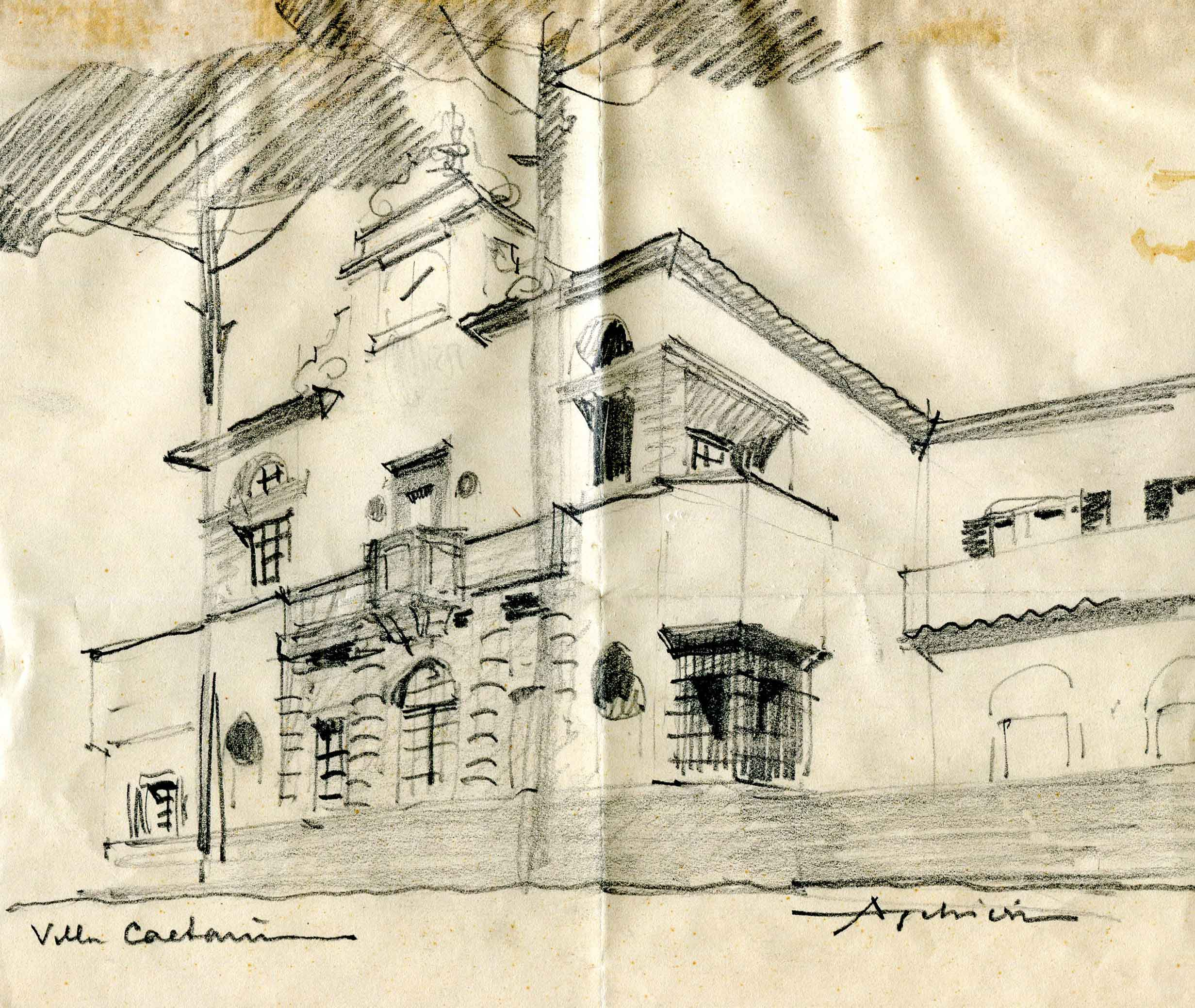 Progetto di villa Caetani