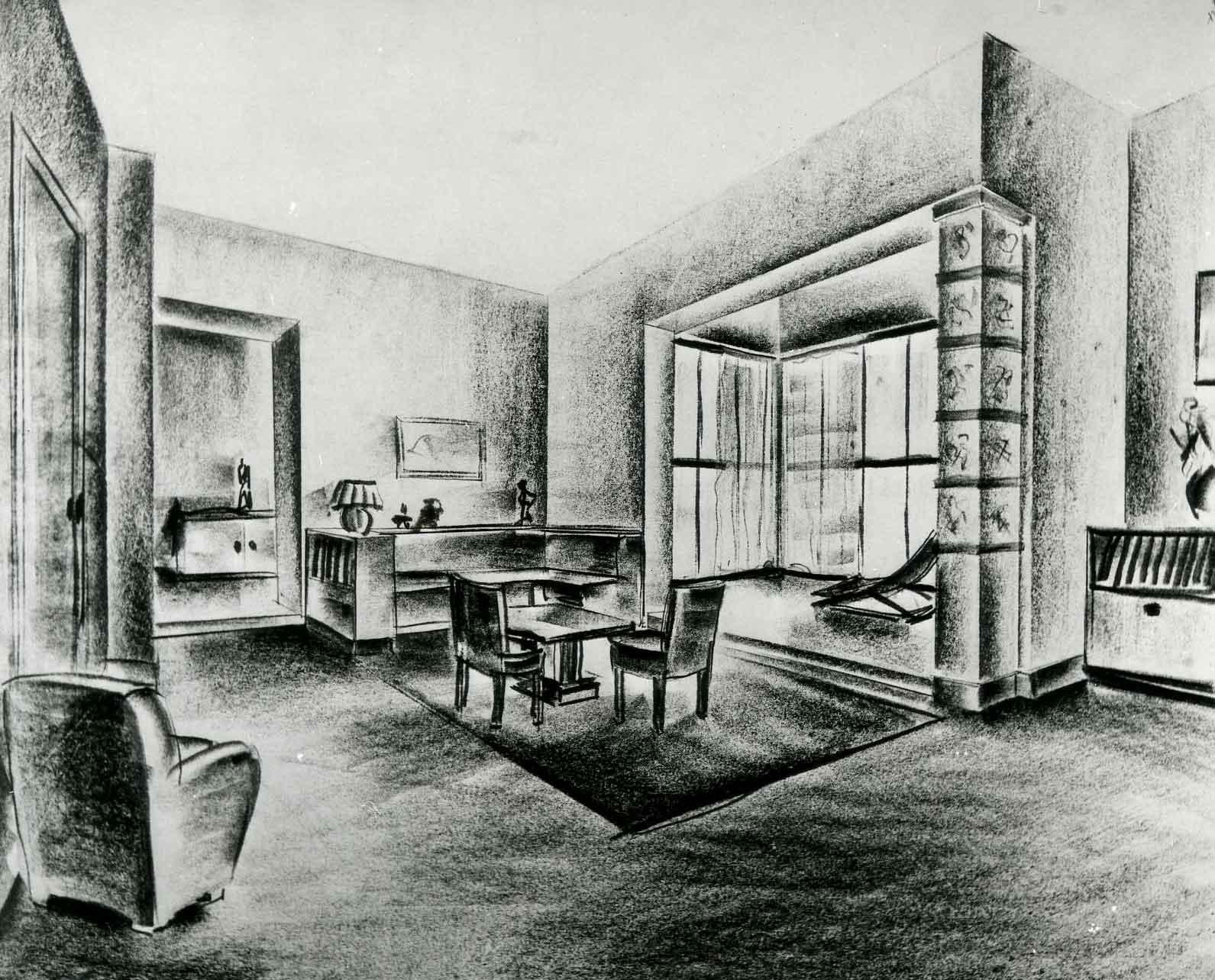 Studio per l'arredamento di una casa privata